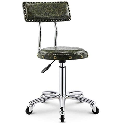 ChairStoolBeauty kruk Rotate Lifting Big Work Sliding rolstoel kapper make-up manicure barbershop kapsalon gededicated rond 44-59cm Square