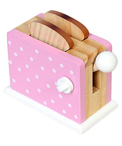 Magni- Toaster aus Holz, 1032P, Rosa