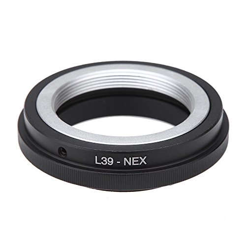 アダプターリング, SODIAL(R)Leica L39マウントレンズとSony NEX Eマウント NEX-3 NEX-5カメラの転換のため...