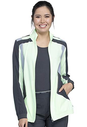 CHEROKEE Infinity CK325A Women's Bomber Style Jacket -  Green -  Small