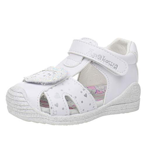 YWLINK Zapatos De Cama para NiñA Sandalias Deportivas Casuales Zapatillas Baotou De Playa Antideslizantes Zapatos De NiñO Zapatos De Primer Paso Confort De Fondo Suave Zapatos De Bebe Regalo