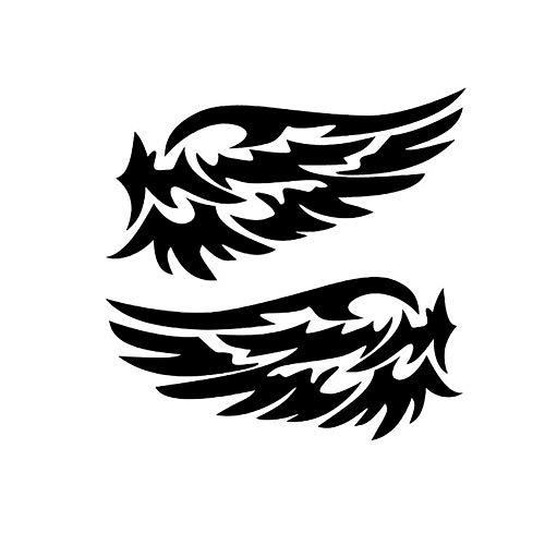 Gold Brussels08 3D Angel Fairy Wings Pattern Car Auto Truck Badge Sticker Car Windshield Door Emblem Decal Logo Car Body Window Sticker