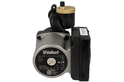 Vaillant Pumpe 131637 für VC 146/4-7, VC 206/4-7, VC 276/4-7, u.w. VSC 126/3-5 140, VSC 196/3-5 150 (R1) VSC 246/3-5 210, VSC 246/3-5 210 R1 VSC S 126/3-5 180, 196/3-5 200 (R1)