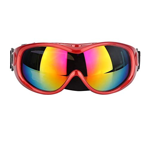 Pet zonnebril, mode ogen UV-bril bril decoraties accessoires voor kat hond (rood)