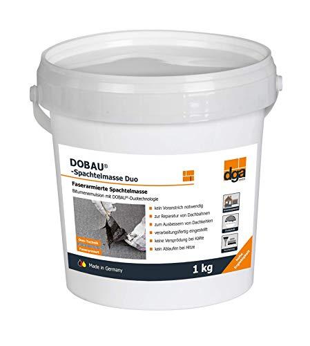 Bitumen Spachtelmasse Duo 1 kg von Dobau lösemittelfrei