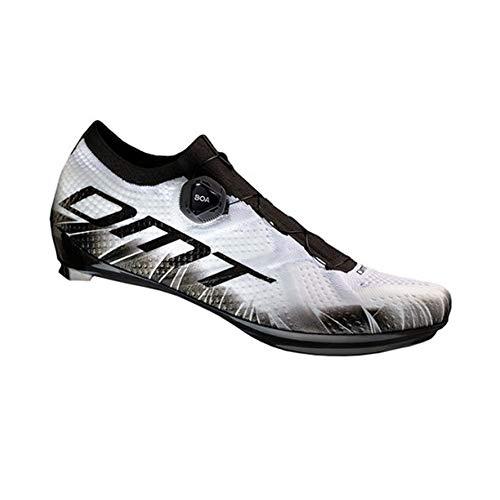 DMT KR1 Rennradschuhe weiß/schwarz 44