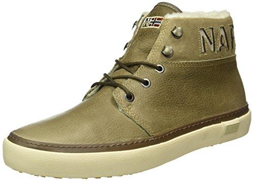 Napapijri Footwear Herren Jakob High-Top, Beige (Tundra N77), 43 EU