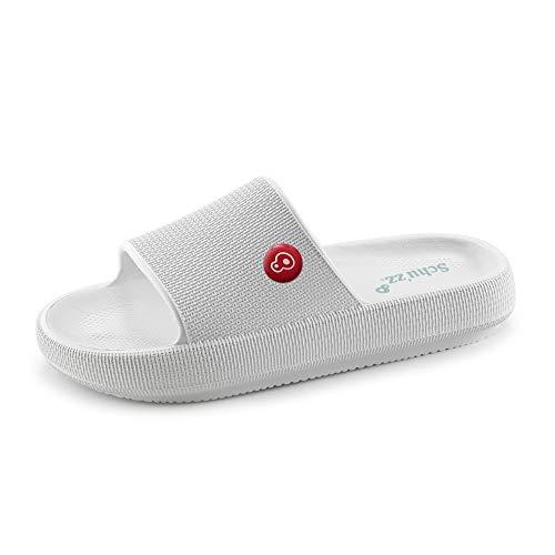 Schu'zz - Zapatillas de deporte para hombre - Ligeras, suaves y ultraconfortables - Suela gruesa - Ideales para el hogar, las vacaciones y el ocio ✅
