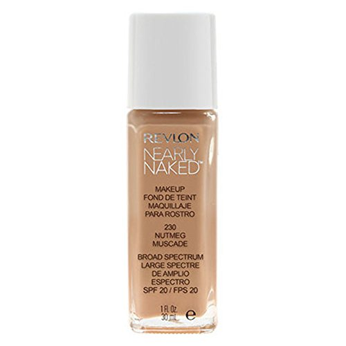 Revlon Nearly Naked Foundation LSF20 30ml - Nutmeg