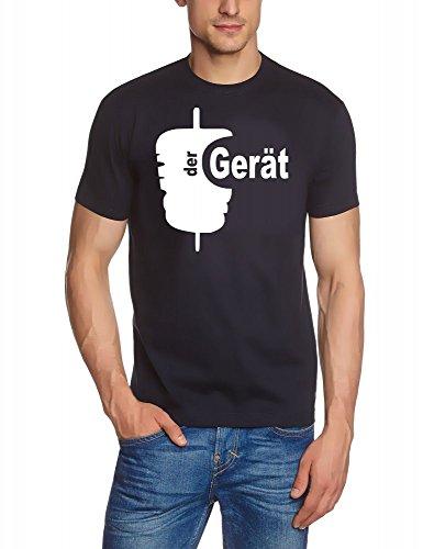 Coole-Fun-T-Shirts DER GERÄT ! Döner T-Shirt Slimfit Navy-Weiss Gr.XXL