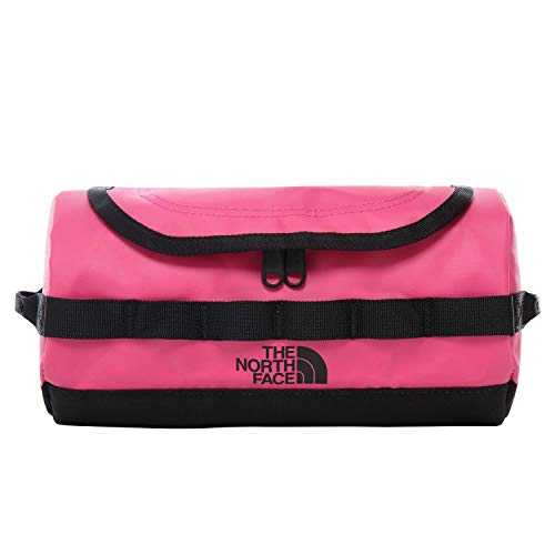 North Face Base Camp Travel Canister Wash Bag One Size Pink TNF Black