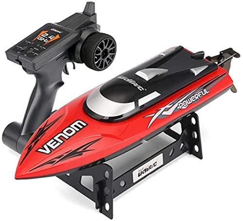 Carica wireless Impermeabile Remote Control Remote Boat Speedboat giocattolo Adulto Modello Barca Adulto Yacht ad alta velocità Bambini RC