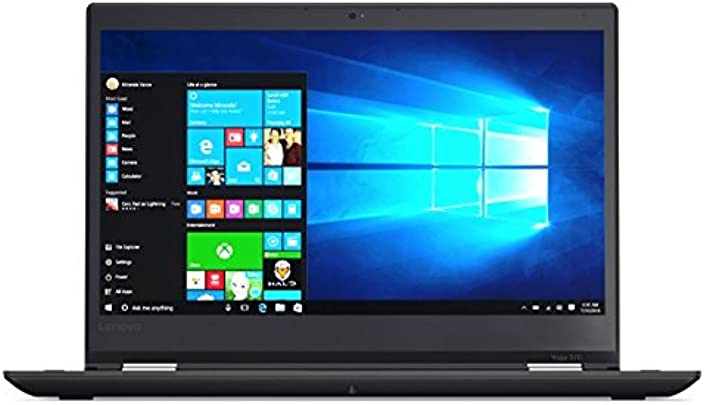 Lenovo 20JH002K ThinkPad Yoga 370 33 78 cm  13 3 Zoll  Laptop  Intel Core i5  256GB Festplatte  8GB RAM  Win 10  schwarz