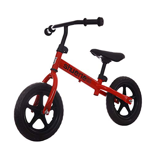 For Sale! Children's Balance Bike, Kids Training Bicycle with Height Adjustable Seat Two-Wheeled No-...