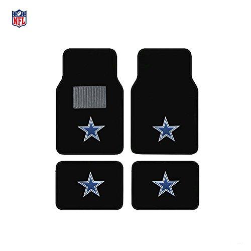Dallas Cowboys NFL Universal Floor Mats 4 Set Car Accessories Memorabilia