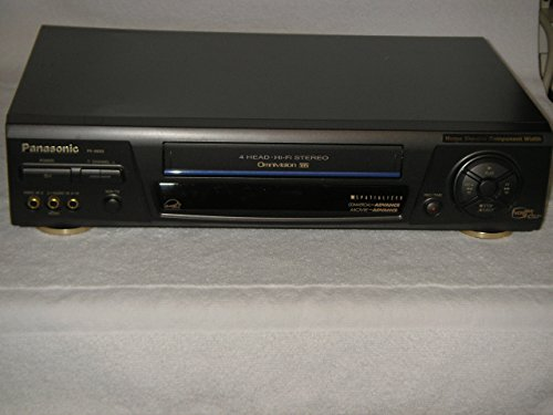 Panasonic Omnivision 4 Head Hi-Fi Stereo VCR, Model # PV-8662, Perfect!