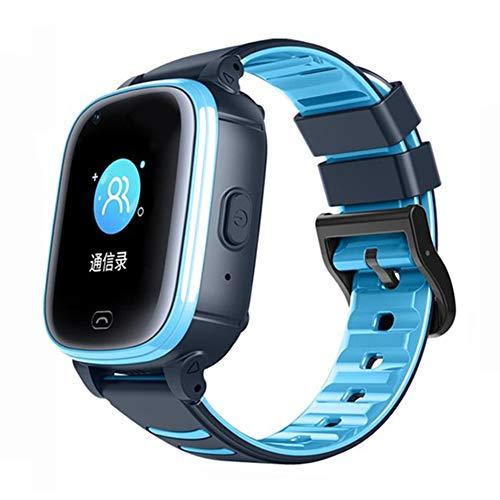B&H-ERX Kinder Smartwatch Telefon, Tracker Uhr für Kinder 1,44 '' Touchscreen SIM-Karte Smartwatch mit Kamera, SOS, für Mädchen Jungen Geschenk Kompatibel mit iOS und Android,Blau