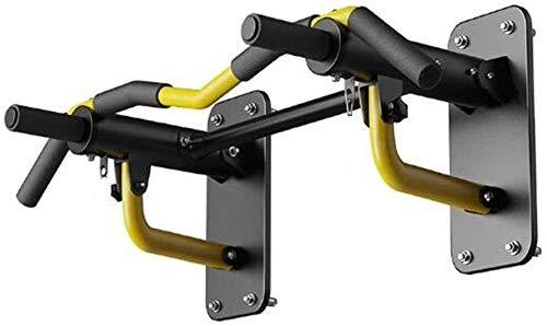 Pull-ups Huishoudelijke rekstok Fitnessapparatuur Herenwand Hangende zandzak Plank Multifunctioneel Sterk dragend (Kleur: Geel Maat: 90 * 57 * 25cm)(Upgrade)