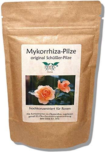 Mykorrhiza-Pilz Konzentrat für Rosen - original Schüßler-Pilze, bekannt aus Funk und Fernsehen, zur Verbesserung von Pflanzenwachstum und -Gesundheit