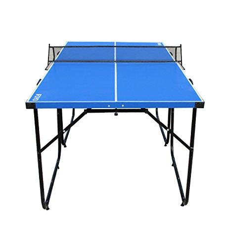 Mesa de ping-pong de IFOYO de 1,8 m, 4 piezas plegables, portátil, para uso en...