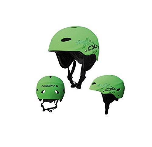 Concept X Helm CX Pro Grün Wassersporthelm: Größe: S