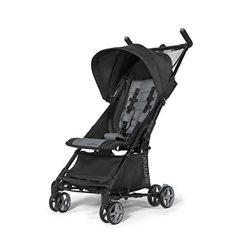 Summer Infant Summer 3Dmicro Super Compact Fold Stroller, Black