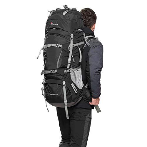Mountaintop Internal Frame Hiking Backpack