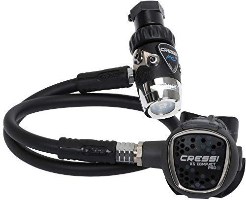 Cressi MC9-SC Compact Pro DIN 300 - Détendeur de plongée hypercompensé à Membrane
