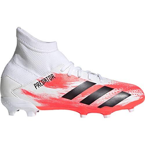 adidas Performance Predator 20.3 FG Fußballschuh Kinder weiß/korall, 3.5 US - 35.5 EU - 3 UK