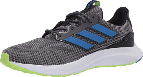 adidas Men's Energyfalcon Running Shoe, Grey Six/Glory Blue/core Black, 12 M US
