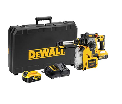 Dewalt DCH275P2-QW Cordless Combination Hammer 18 V / 5.0 Ah, Colour, Size