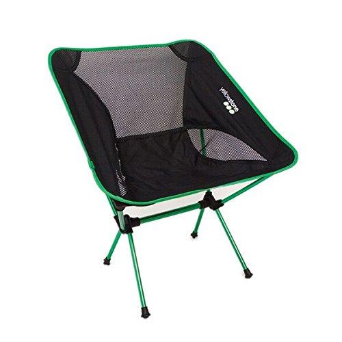 Yellowstone Unisexe léger Chaise, Vert/Noir, Medium