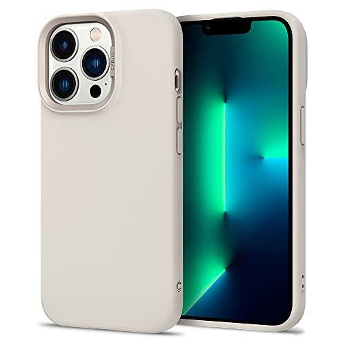CYRILL von Spigen Color Brick Kompatibel mit iPhone 13 Pro Hülle [Anti-Staub] Premium Soft TPU Langlebig Silicone Schutzhülle - Beige