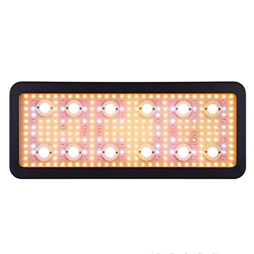 Lámpara De Planta De Espectro Completo, Ligera Y Similar Al Sol, Chips LED COB Y SMD Para Invernadero De Plantas De Interior, Con Temporizador E Interruptor Doble,3600W