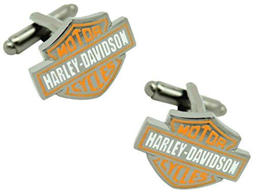 masgemelos Manschettenknöpfe Moto Harley Davidson Cufflinks