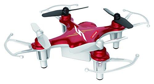 Cartronic Nano-Quadrocopter Q12S, Mini-Drohne, nur 8 cm Durchmesser, hohe Flugstabilität, schnell und wendig