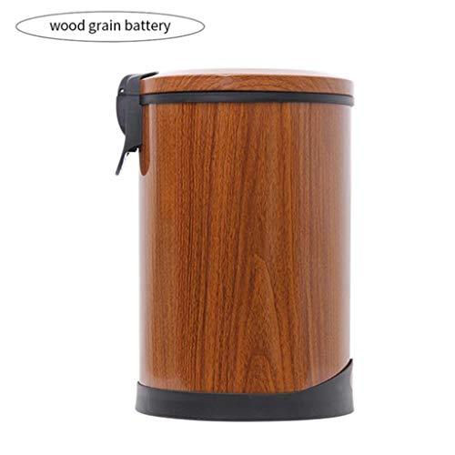 DFJKL Vuilnisemmer, intelligente inductie-afvalemmer, huishouden, automatische inductie, roestvrij staal, voet-touch-inductie-afvalemmer, opslag in vuilnisbak van huis en tuin
