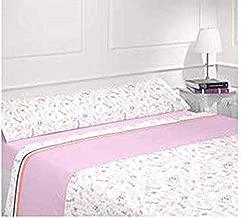 Energy Colors Textil - Hogar - Poland - Juego Sábanas Térmicas Tipo Pirineo Polar 3 Piezas Invierno Otoño (Celer Burdox 120 gr, 150_x_200_cm)