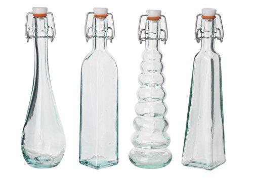 /botella con tap/ón de corcho 100/% cristal reciclado San Miguel aut/éntico/ /1L/
