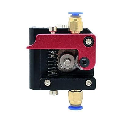 ICQUANZXLeft Hand 1.75mm Filament MK8 Bowden Extruder Frame Block for Reprap 3D Printer Kossel Mendal Prusa