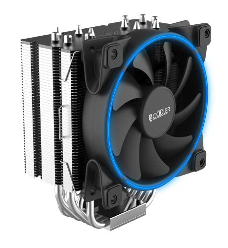 PCCOOLER GI-R66U - Ventilador (240 W, TDP, para zócalos Intel y AMD, incluye ventilador), color azul