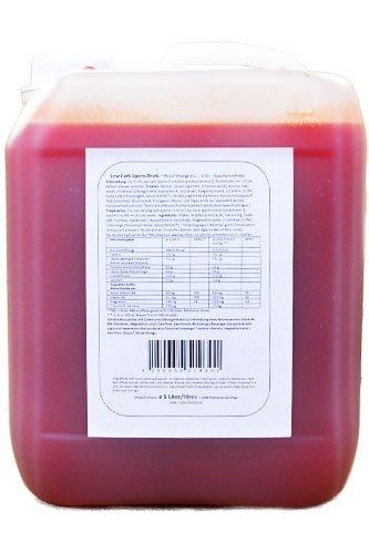 Body Attack Zero Sports Drink, Raspberry/Himbeere, 1er Pack, (1x 5000ml)