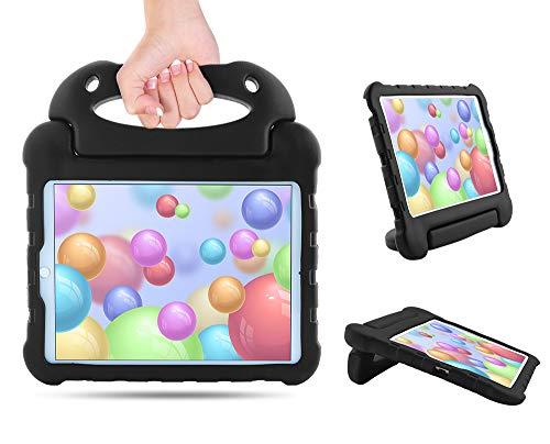 SORAKA Funda para iPad Air de 3ª generación (10.5 pulgadas)/iPad Pro (10.5 pulgadas)/iPad 8ª/7ª generación 10.2 pulgadas con asa de soporte ligero a prueba de golpes con cordón