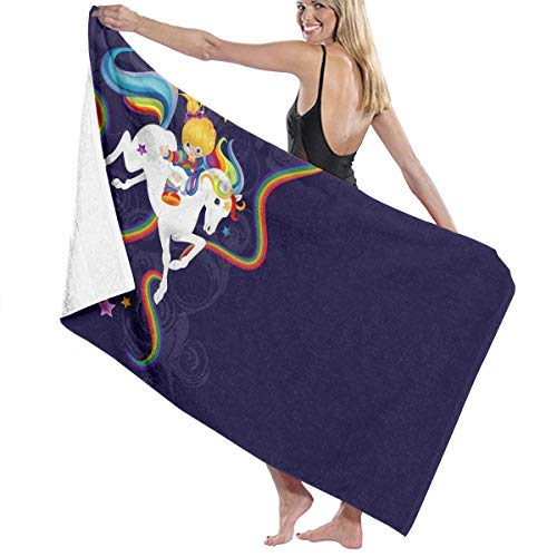 PdGAmats Rainbow Brite and Starlite Memories Bath Towel Beach SPA Shower Travel Towel 31