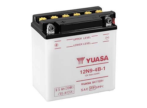 YUASA BATTERIE 12N9-4B-1 offen ohne Saeure