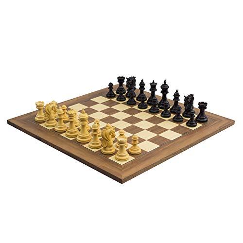 The Regency Chess Company Il Grande Kingsgate Ebano e Noce Scacchi Set con 10.8cm King