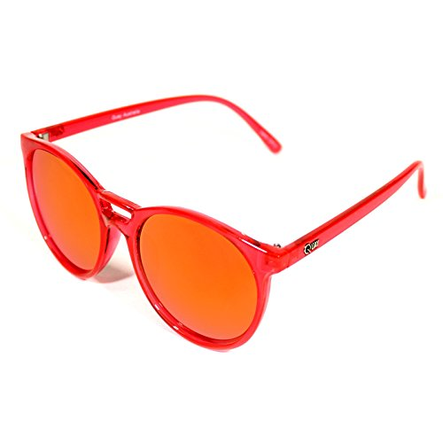 Quay Australia Damen Sonnenbrille ALL CRIED OUT sunglasses red