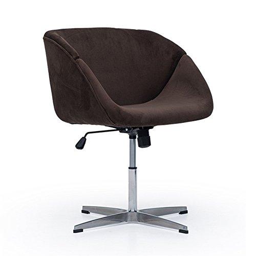 Moderne Soho Chaise De Bureau Paresseux Chaise En Alliage D'aluminium Pieds Peuvent Être Réglés 62 * 57.5 * 74-88 Cm