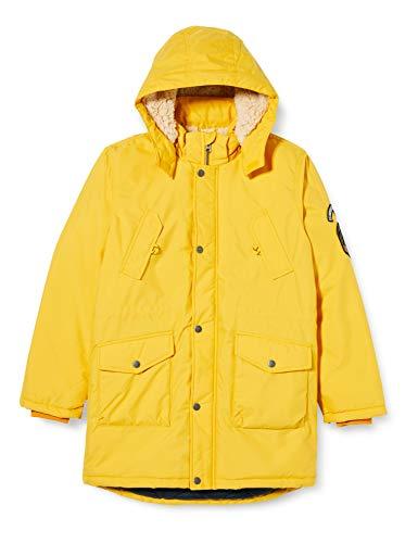 NAME IT Jungen NKMMACK Parka Jacket NOOS Jacke, Golden Rod, 152