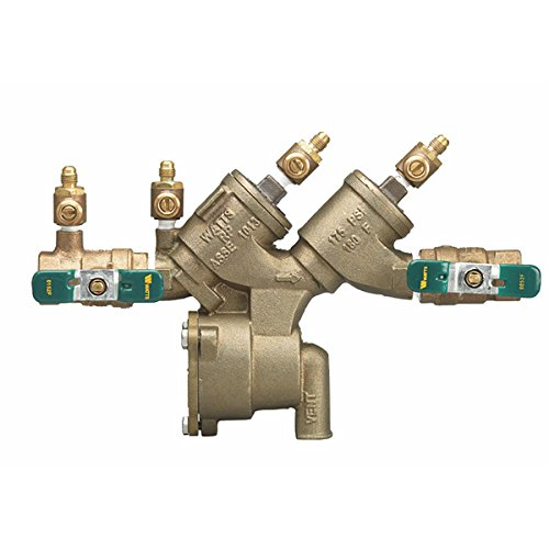 """Watts 0065372 3/4"""" Reduced Pressure Zone Assembly, Quarter Turn Ball Valves, Lead-Free"""